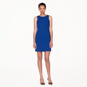 J. Crew scalloped dress